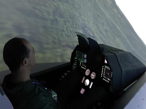 Un simulateur d'avion de chasse ouvre ses portes à Lyon | Geeks | Scoop.it