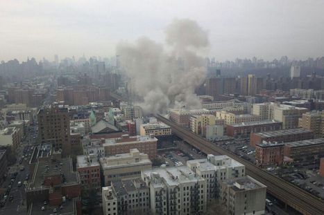 Harlem explosion: Live updates as at least four injured following huge blast in New York | Daily Magazine | Scoop.it