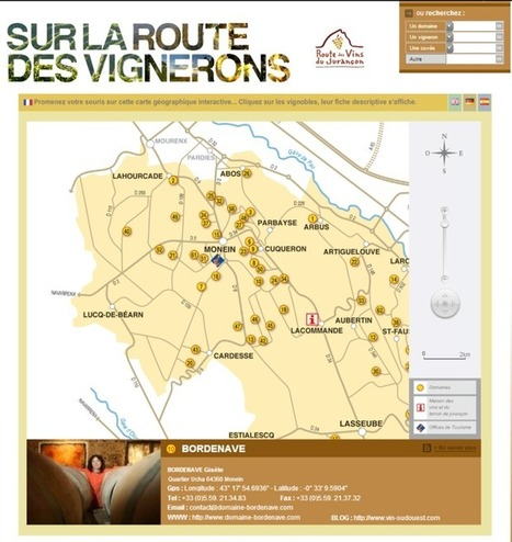 Sur la route des vignerons du Jurançon | World Wine Web | Scoop.it