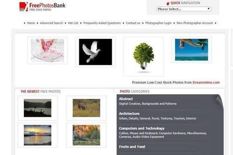 Os 103 melhores bancos de imagens gratuitos que você precisa conhecer | Ferramentas da WEB 2.0 | Scoop.it