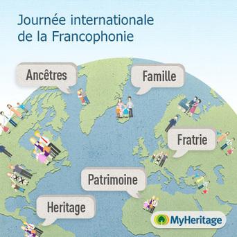 Journée internationale de la Francophonie - MyHeritage.fr - Blog francophone | Rhit Genealogie | Scoop.it
