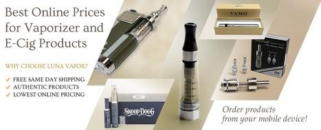 Luna Vapor   Electronic Cigarettes   Vaporizers   Buy Online   Micro G Vaporizer: Enjoy Cigarette Vapor   Scoop.it