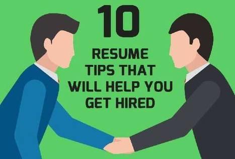 10 règles à suivre (OU SURTOUT PAS !) sur votre CV pour être recruté (OU SURTOUT PAS !) | Accompagner la démarche portfolio | Scoop.it