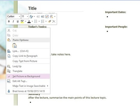 7 Little-Known OneNote Features You Will Love | Coaching Central | Scoop.it