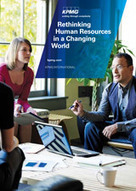 Rethinking Human Resources in a Changing World | KPMG | HR and Recognition | Scoop.it