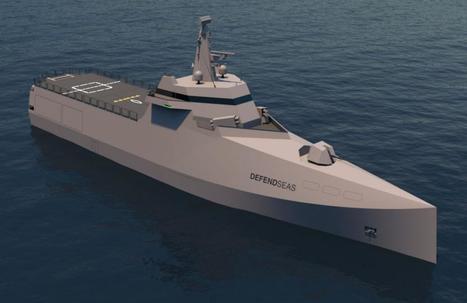 STX France présente à Euronaval un nouveau concept de corvette Defendseas   Veille Domaine Naval   Scoop.it