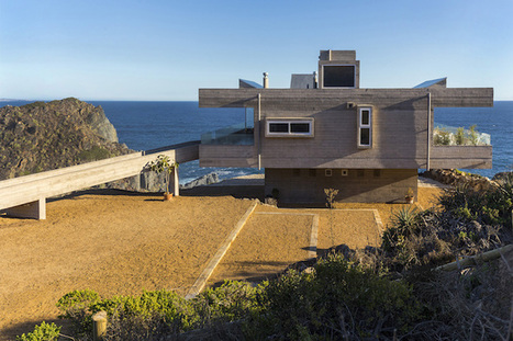 Elevated Getaway Home Offers Undisturbed Views of Chilean Seaside   Le It e Amo ✪   Scoop.it