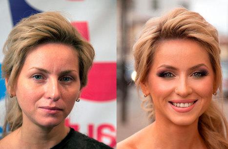 Sorprendentes transformaciones logradas solo con maquillaje | placerydiversion | Scoop.it