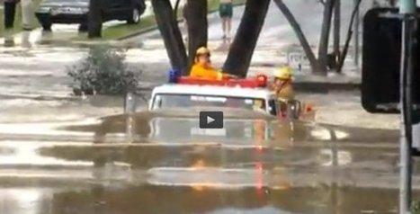 Buzz Vidéo | Camion de pompier sous 2 mètres d'eau en Australie - AllôLesPompiers | Les Sapeurs-Pompiers ! | Scoop.it