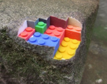 Brick Trick: 3D-Printed Architectural 'Prosthetics' Show False Lego Innards | Wired Design | Wired.com | GCSE ICT Case Study Resources | Scoop.it