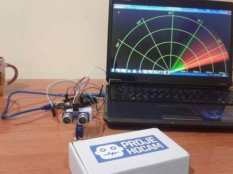 Arduino Ultrasonic Radar Project - All | Raspberry Pi | Scoop.it