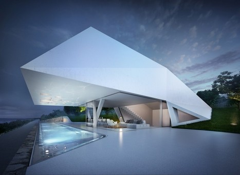 Villa F in Rhodes, Greece by Hornung and Jacobi Architecture | sustainable architecture | Scoop.it