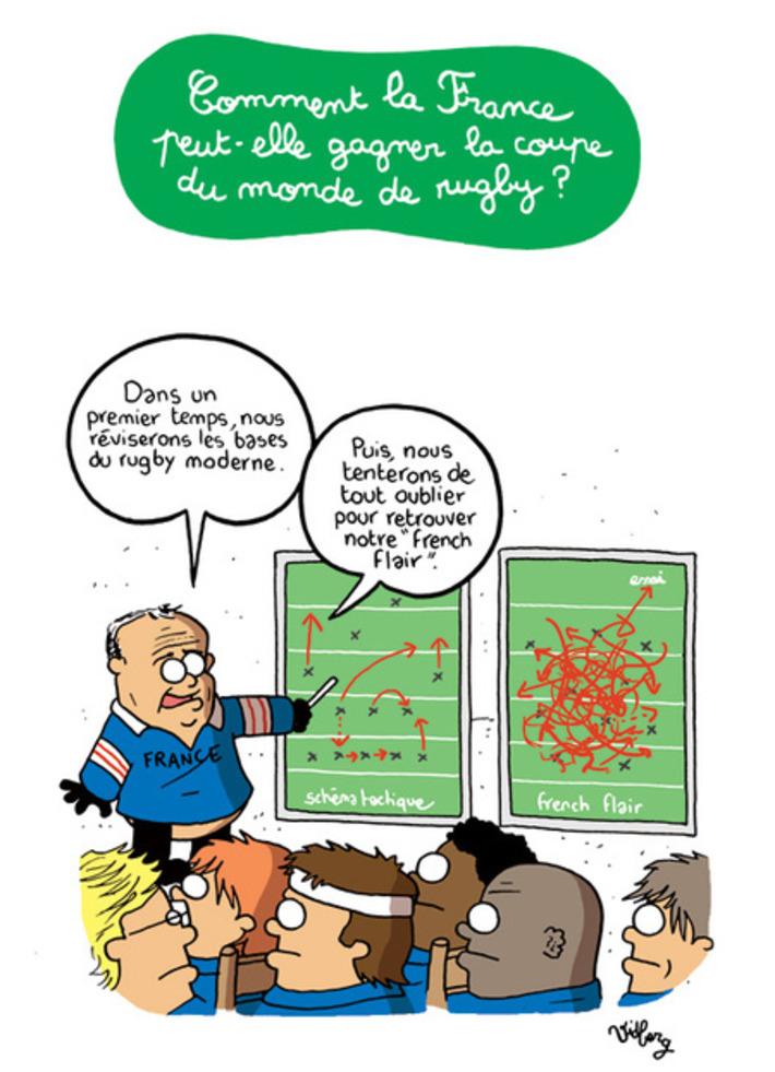 Comment la France peut-elle gagner la coupe du monde de rugby ? | Baie d'humour | Scoop.it