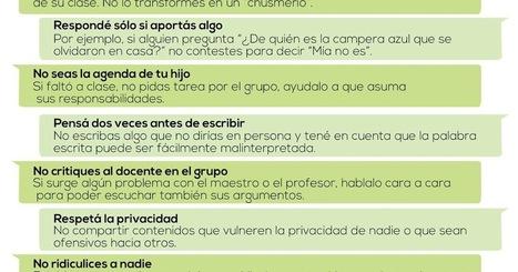 Grupos de WhatsApp consejos para madres y padres en la escuela (también para docentes) | aLeXduv3 | WEB 2.0 | Scoop.it