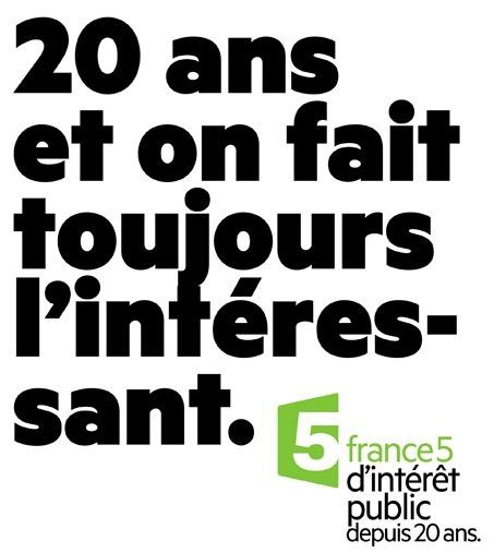 France 5 fête ses 20 ans en fanfare, forte de beaux succès | DocPresseESJ | Scoop.it