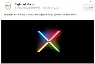 Il Nexus 5 sarà realizzato da Motorola, parola di Taylor Wimberly | Android News Italia | Scoop.it