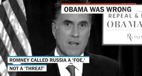 Flashback: Obama's debate zinger on Romney's '1980s' foreign policy (video) | Gov and law Katie Witt | Scoop.it