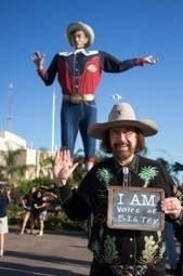 Fairgoers turn to social media to protest dismissal of Big Tex's voice ... | Dallas News | Scoop.it