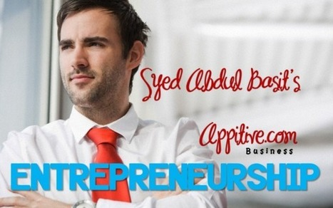 Entrepreneurship | Appitive.com | Scoop.it