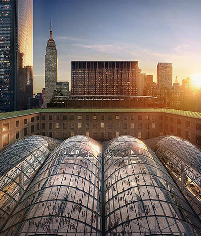 SOM reveals images of proposed Penn Station expansion | The Architecture of the City | Scoop.it