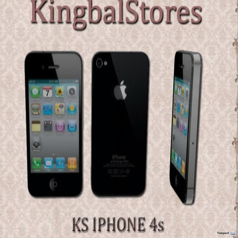 KS iPhone 4S Group Gift by KingbalStores | Teleport Hub - Second Life Freebies | Second Life Freebies | Scoop.it