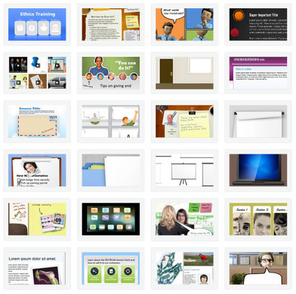 Over 40 Rapid E-Learning Posts with Free PowerPoint Templates & E-Learning Assets » The Rapid eLearning Blog | E-Learning and Online Teaching | Scoop.it