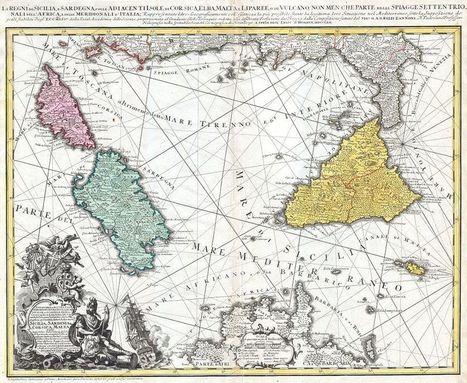 un antiquario dona oltre duemila mappe storiche a Wikimedia - Iostudio | mappe storiche | Scoop.it