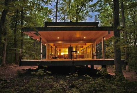 Travis Price Architects designs a home in the forest | GodSpeed Great Commission | Scoop.it
