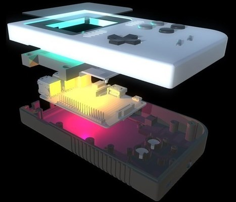 GameKid Raspberry Pi Powered Handheld Hits Kickstarter (video) - Geeky Gadgets | Raspberry Pi | Scoop.it