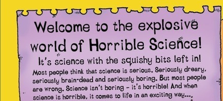 Welcome to Horrible Science - Horrible Science | Resource Bank: Science and Maths | Scoop.it