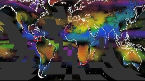 These cloud maps track life on Earth in beautiful detail | STEM Connections | Scoop.it