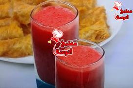 وصفة عصير فراولة بالكركدية من برنامج على قد الايد لـ الشيف نجلاء الشرشابي (حلقات رمضان 2015) ~ مطبخ أتوسه على قد الايد | مطبخ أتوسه | Scoop.it