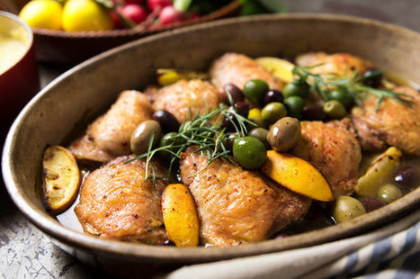 A Chicken Thighs Recipe With Mediterranean Flavor | good looking recipes | Scoop.it
