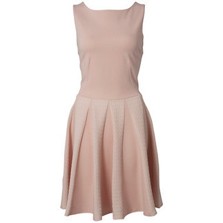 Pastel Pink Waffle Godet Dress | Shop Online | BeSaz Boutique | Nigeria | Ghana | Besaz Boutique | Scoop.it