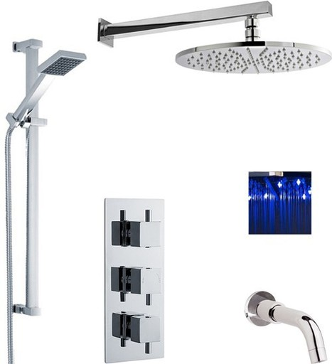 Three Outlet Shower Valve Sets | Showers, Taps & Bathrooms | Scoop.it