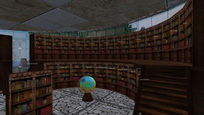 Library, Moni Targa - Second Life | Second Life Destinations | Scoop.it