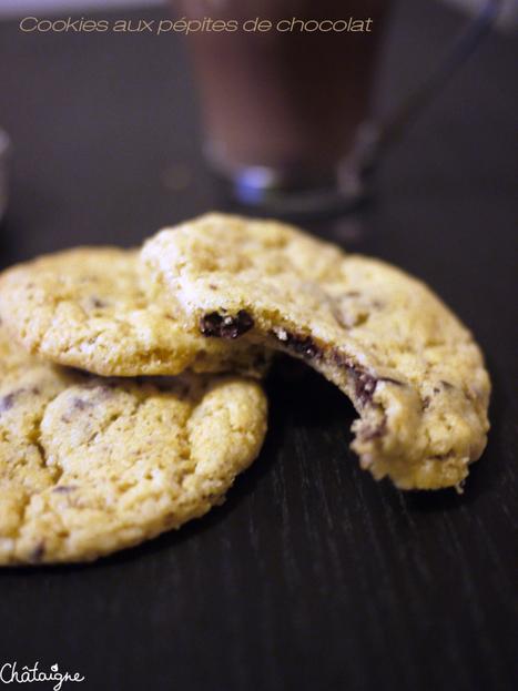 Cookies aux pépites de chocolat | Desserts | Scoop.it