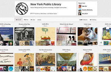 25 Libraries We Most Love on Pinterest | Academic Librarian Research Support | Scoop.it