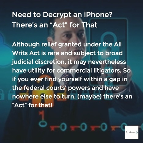 "Need to Decrypt an iPhone? There's an ""Act"" for That 