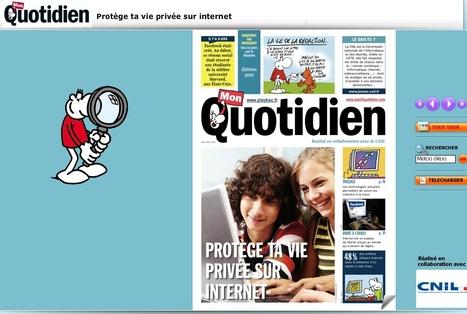 Pour les 10-12 ans - Jeunes - CNIL - Commission nationale de l'informatique et des libertés | La page des enfants | Scoop.it