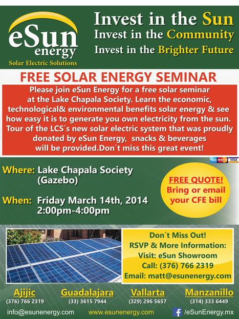 eSun Energy  free solar seminar | BIPV - Green Energy Buildings | Scoop.it