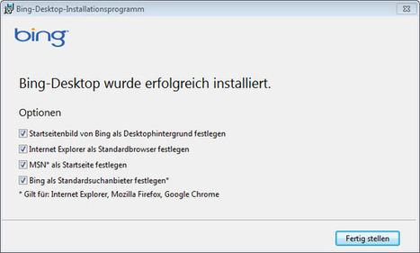 So what is Bing Desktop? - gHacks Technology News   Technology gallery   Scoop.it
