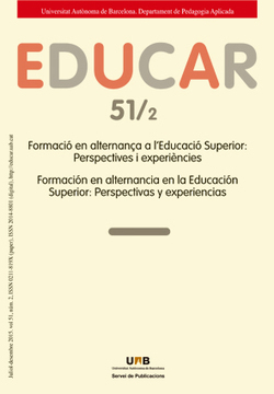Educar Vol 51 nº 2 Formación en alternancia en Educación Superior: Perspectivas y experiencias | Educación flexible y abierta | Scoop.it