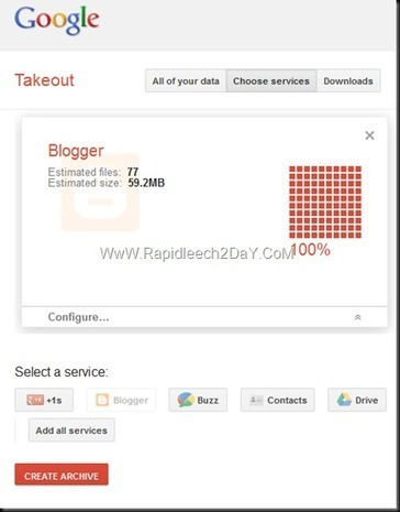 How to Backup All Your Blogger Blogs at Once With Google Takeout (Easy Way)   Rapidleech2day   Scoop.it