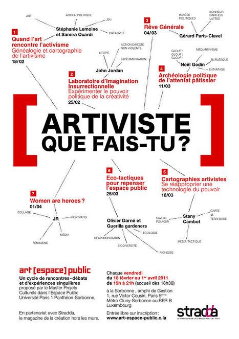 Conseil de Quartier Clignancourt - Jules Joffrin. [Paris 18]: Cycle art [espace] public à la Sorbonne | urban hacktivism | Scoop.it