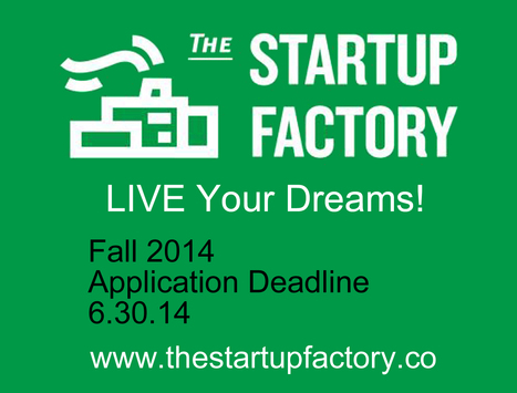Startup Factory - Most Capitalized Accelerator in Southeast - Live Your Dreams | Personal Branding Using Scoopit | Scoop.it