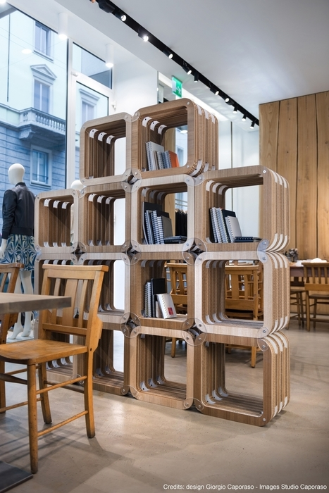 Retail Design: Cardboard Furniture for Retail Design - Verger Store Case Study | Sustainable Office and Public Spaces | Scoop.it