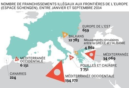 Le nombre d'immigrés entrés clandestinement dans l'UE a presque triplé en un an - Le Monde | SCOOP IT COLLEGE JEAN MONNET JANZE | Scoop.it