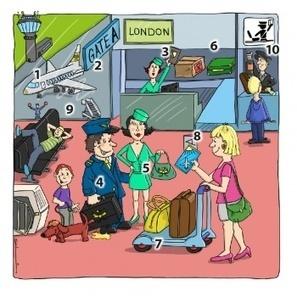 L'aéroport – Vocabulaire   TICE et langues   Scoop.it