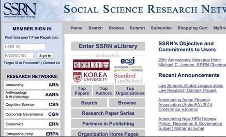 11 Great Search Engines for Social Science Researchers ~ Educational Technology and Mobile Learning | Humanities curriculum news | Scoop.it